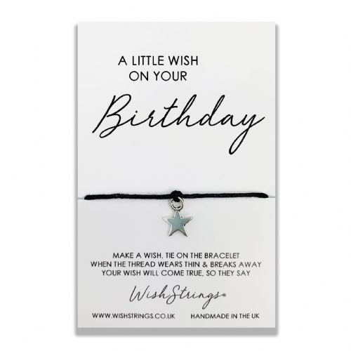 A Little Wish On Your Birthday Wishstring